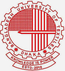 Bangladesh University of Textiles(BUTex) Admission Circular 2015